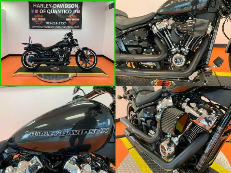 2018 Harley-Davidson Softail Black Tempest for sale