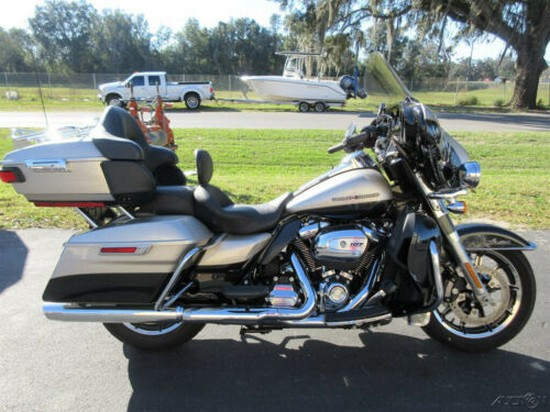 2018 Harley-Davidson Touring Electra Glide® Ultra Limited Silver for sale
