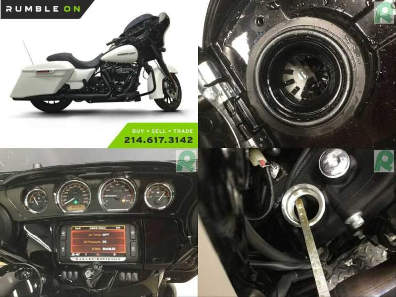 2018 Harley-Davidson Touring CALL (877) 8-RUMBLE White for sale craigslist