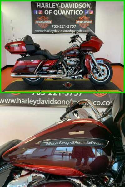 2018 Harley-Davidson Touring Road Glide Ultra Wicked Red / Twisted Cherry for sale craigslist
