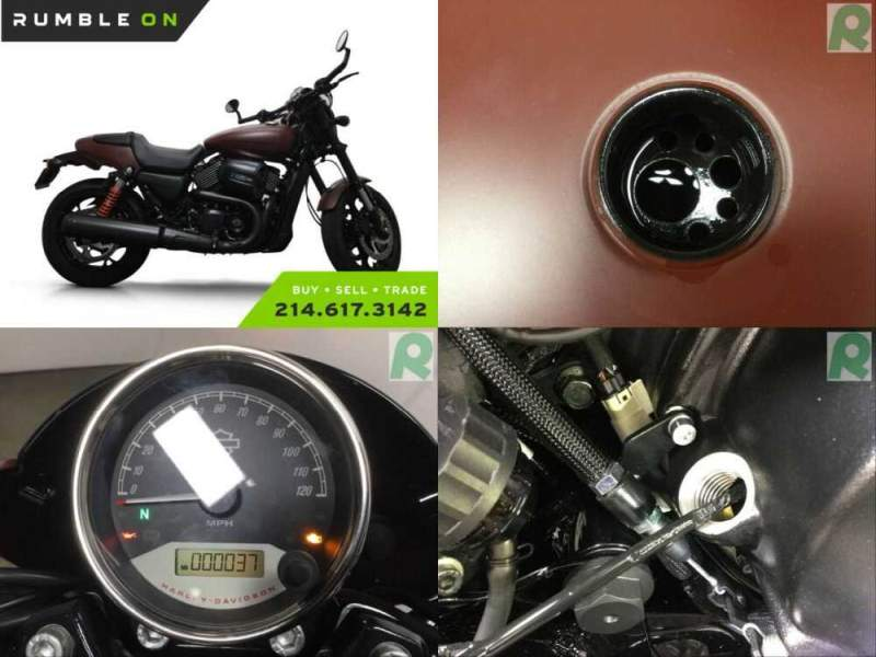 2018 Harley-Davidson XG750A STREET ROD CALL (877) 8-RUMBLE Copper for sale