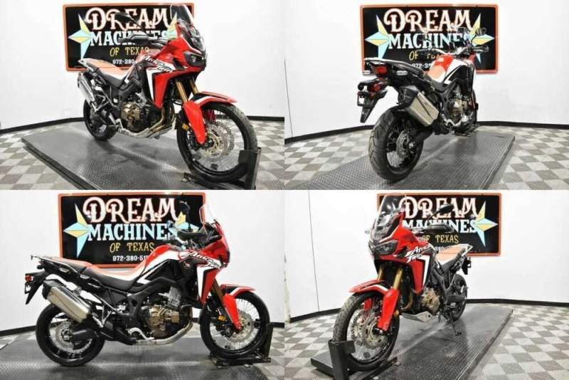 2018 Honda Africa Twin CRF1000L DCT Red for sale