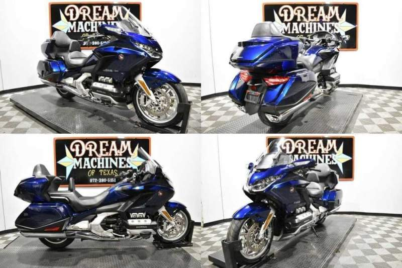 2018 Honda Gold Wing Tour DCT - GL1800D Blue for sale craigslist