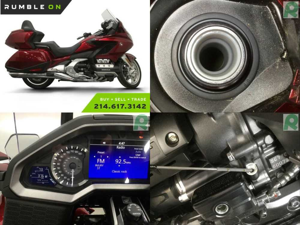 2018 Honda Gold Wing CALL (877) 8-RUMBLE Red for sale craigslist
