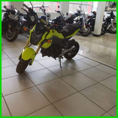 2018 Honda Grom 125E Yellow for sale craigslist