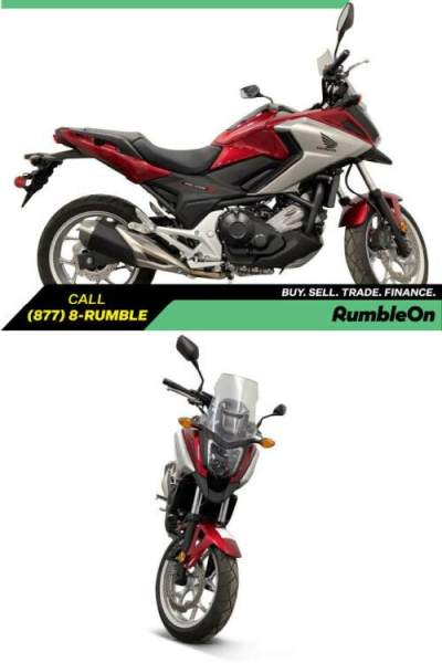 2018 Honda NC750X CALL (877) 8-RUMBLE Red for sale craigslist