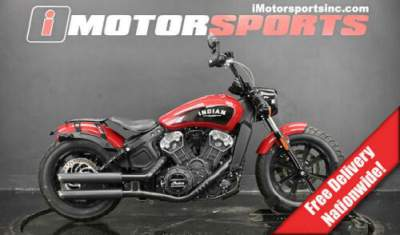 2018 Indian Scout Bobber Indian Motorcycle Red Red for sale