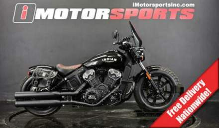 2018 Indian Scout Bobber Thunder Black -- for sale