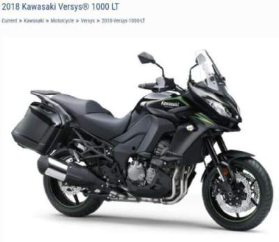 2018 Kawasaki KLZ1000 Black for sale