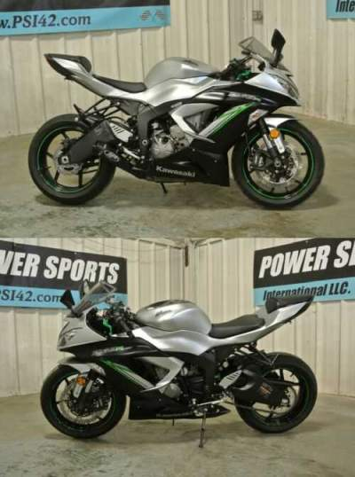 2018 Kawasaki Ninja SILVER for sale