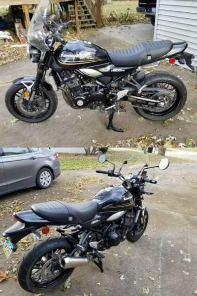 2018 Kawasaki Z900RS ZR900 W/ ABS METALLIC SPARK BLACK for sale craigslist