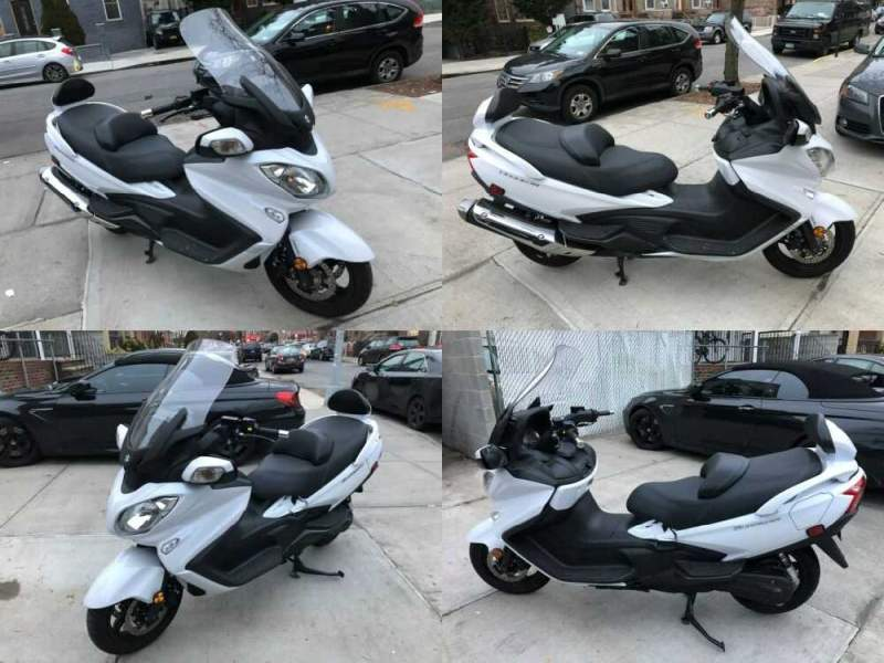 2018 Suzuki Burgman 650 Executive White for sale