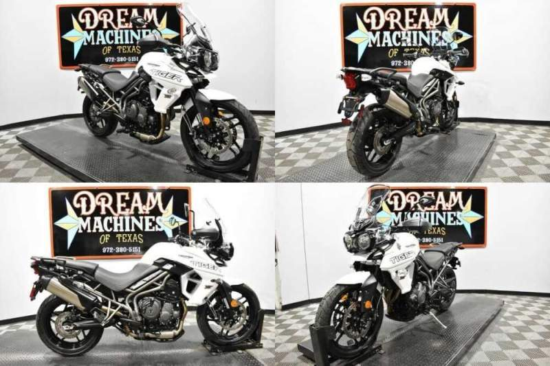 2018 Triumph Tiger 800 XRX Low White for sale