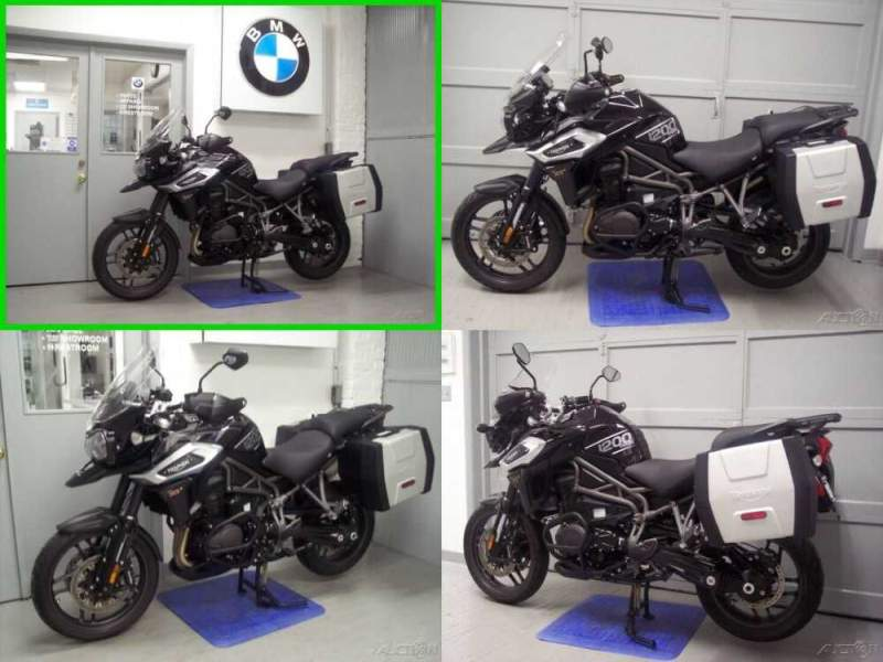 2018 Triumph Tiger XRx Black for sale craigslist