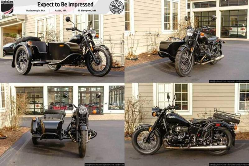 2018 Ural M70 Flat Black Custom Black for sale