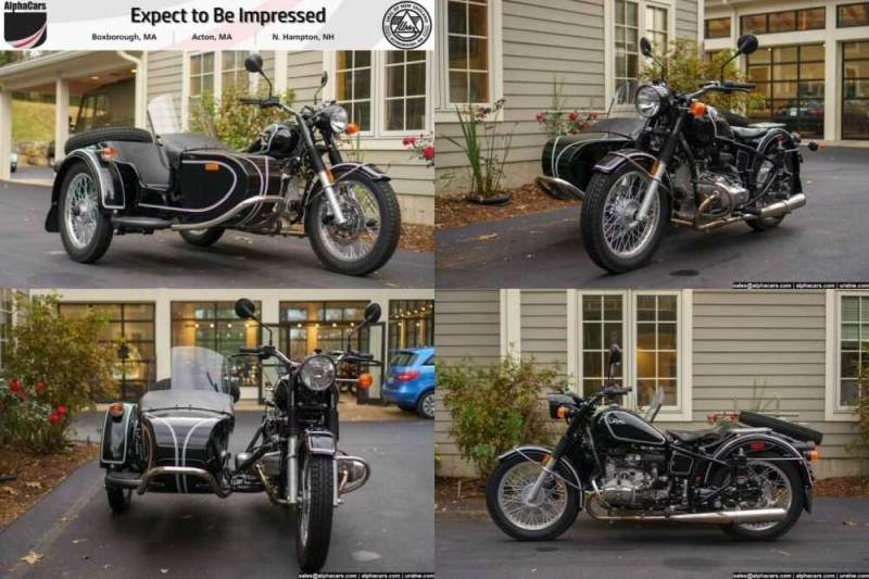 2018 Ural Retro Black Gloss Black for sale craigslist