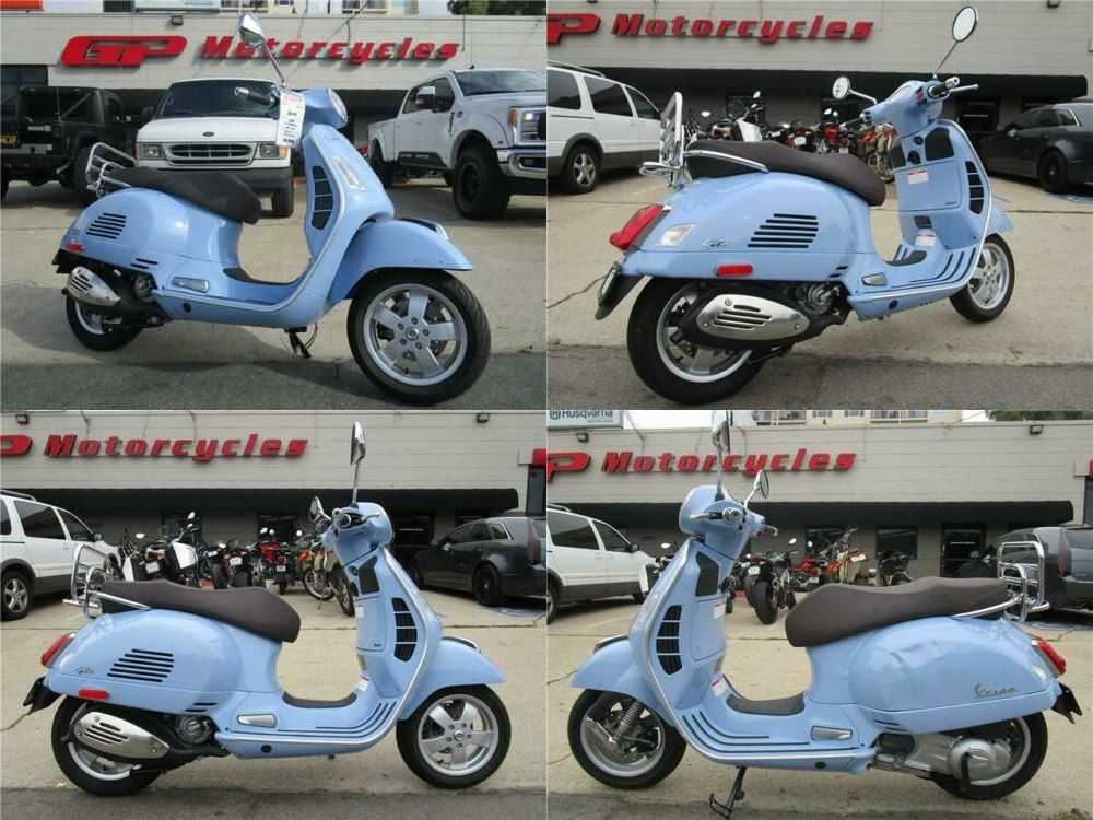 2018 Vespa GTS 300 SUPER Blue for sale
