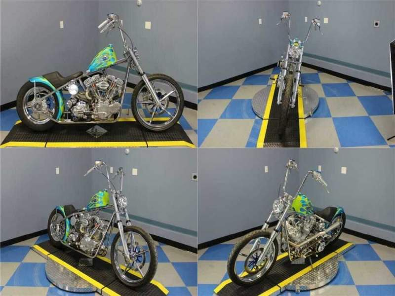2019 Acme Choppers Flagship Shovel Head Blue for sale