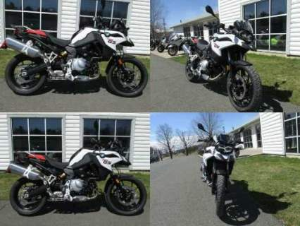 2019 BMW F750GS -- White for sale