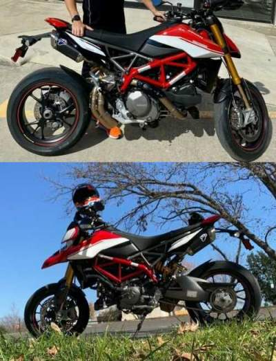 2019 Ducati Hypermotard 950 SP Red for sale craigslist
