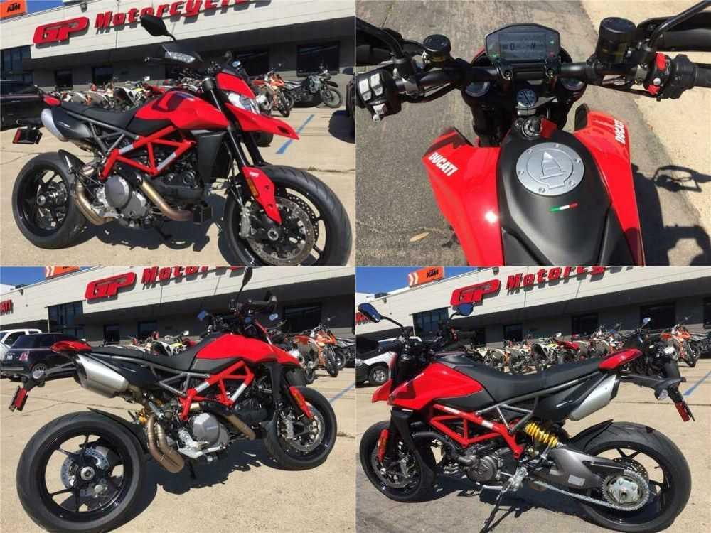 2019 Ducati Hypermotard 950 Red for sale craigslist