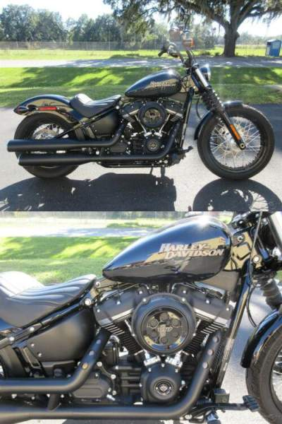 2019 Harley-Davidson Softail Street Bob® Black for sale craigslist