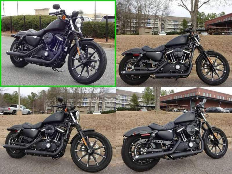 2019 Harley-Davidson Sportster Iron 883 Black for sale craigslist