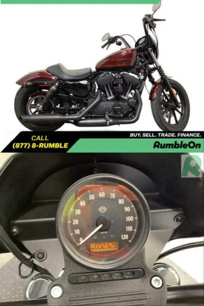 2019 Harley-Davidson Sportster CALL (877) 8-RUMBLE Red for sale craigslist