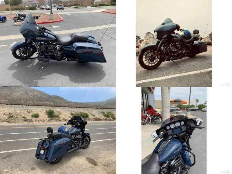 2019 Harley-Davidson Street Glide Special Glide Special Classic Billiard Blue for sale craigslist