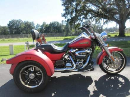 2019 Harley-Davidson Touring Freewheeler, TRIKE, THREE WHEELER, Red for sale craigslist