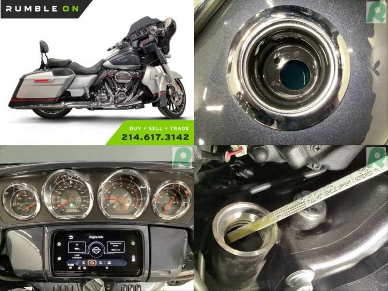 2019 Harley-Davidson Touring CALL (877) 8-RUMBLE Silver for sale