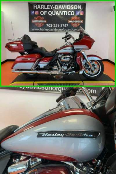 2019 Harley-Davidson Touring Road Glide Ultra Wicked Red / Barracuda Silver for sale craigslist