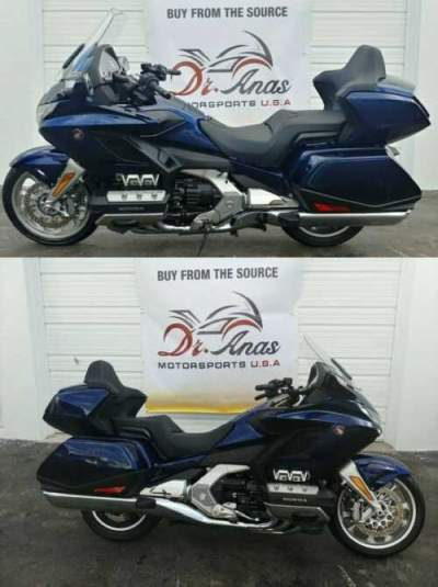 2019 Honda Gold Wing DCT Blue for sale craigslist