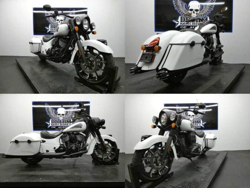 2019 Indian Springfield Dark Horse White Smoke White for sale