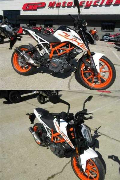 2019 KTM 390 Duke 390 Duke White for sale