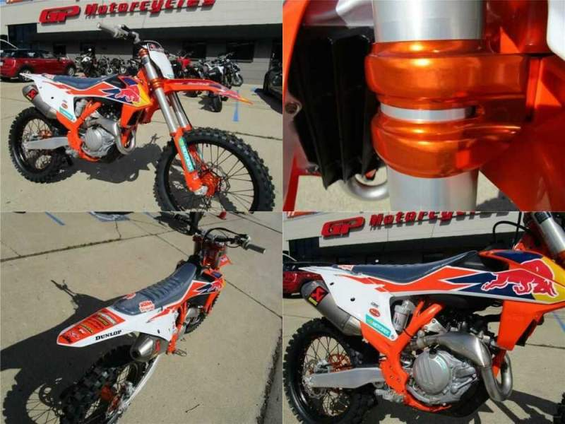 2019 KTM 450 SX-F FACTORY 450 SX-F FACTORY FACTORY GRAPHICS for sale