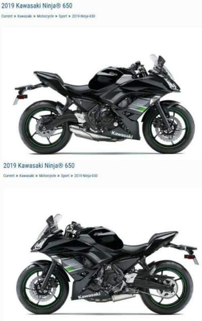 2019 Kawasaki Ninja EX650 Black for sale craigslist