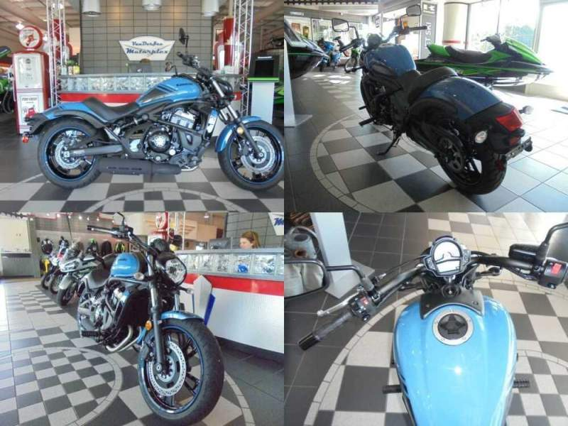 2019 Kawasaki Vulcan 650 S ABS Blue for sale