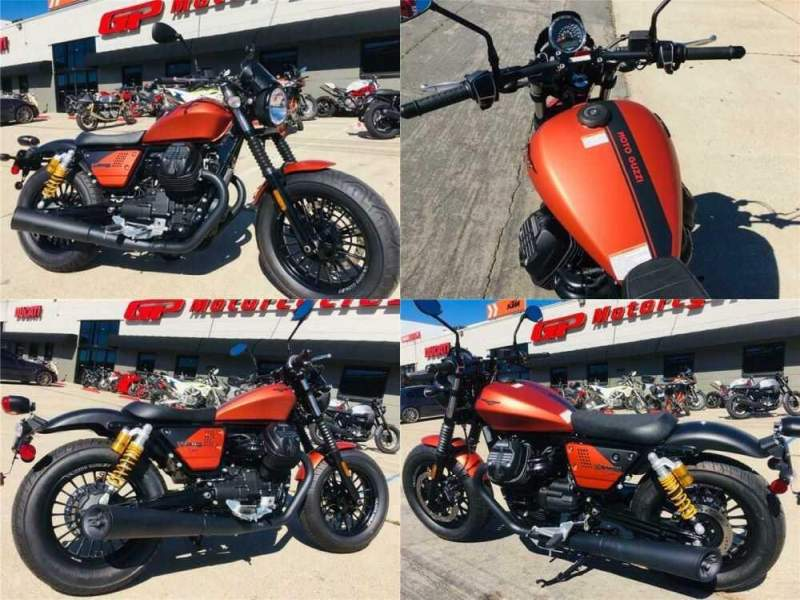 2019 Moto Guzzi V9 Bobber Sport Orange for sale