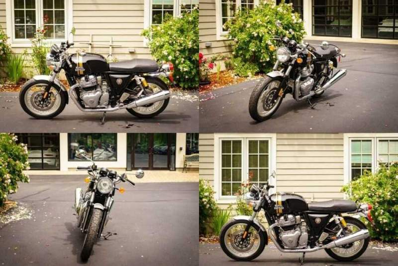 2019 Royal Enfield Continental GT 650 Twin Black for sale