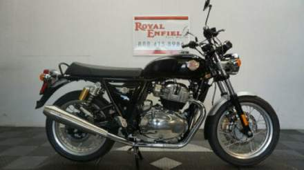 2019 Royal Enfield INT 650 S&S SLIP-ONS Black for sale