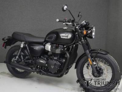 2019 Triumph Bonneville Black Black for sale craigslist