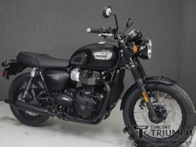 2019 Triumph Bonneville Black Black for sale