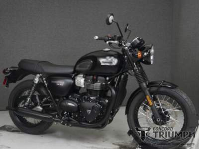 2019 Triumph Bonneville Black MATT BLACK for sale
