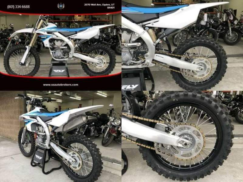 2019 Yamaha YZ 450cc Mikuni fuel injection White for sale