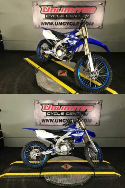 2019 Yamaha YZ250F Blue for sale