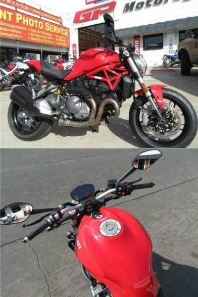 2020 Ducati Monster 821 Red Red for sale craigslist