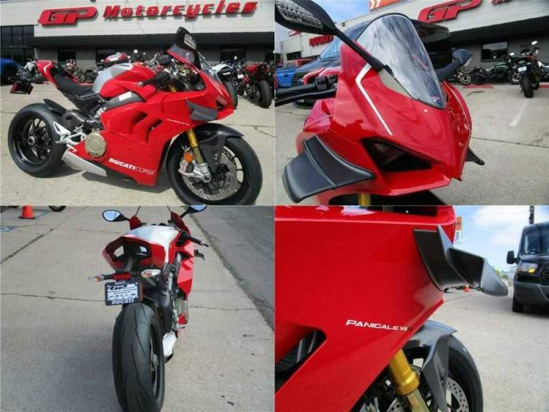 2020 Ducati Superbike Panigale V4 R Red for sale craigslist