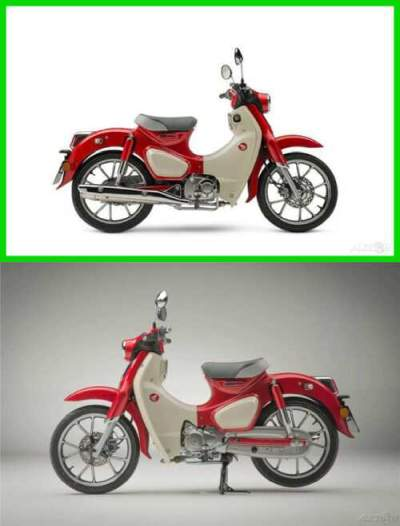 2020 Honda Super Cub C125 ABS PEARL NEBULA RED for sale