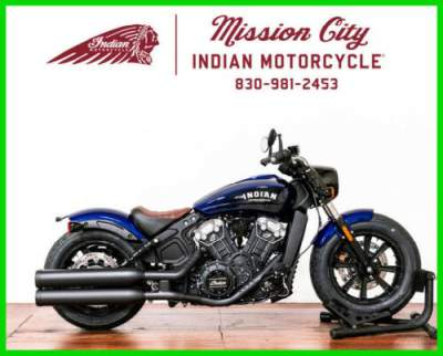 2020 Indian Scout Bobber ABS Deepwater Metallic Deepwater Metallic for sale